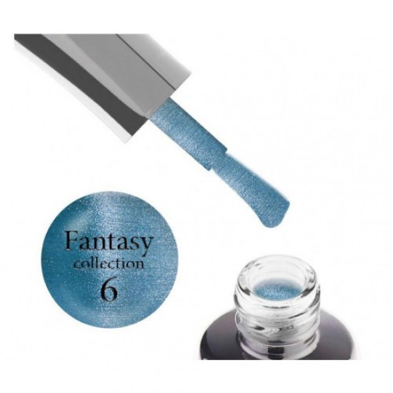 Luxton Fantasy 06 Gel Lacquer, blue with flare, magnetic, 10 ml.
