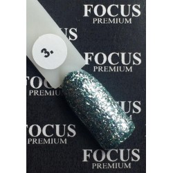 Luxton Titan 003 Turquoise Gel Lacquer with Sparkles, 10 ml.