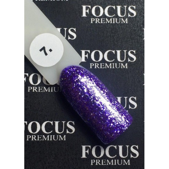 Luxton Titan 007 Purple Gel Lacquer with Sparkles, 10 ml.