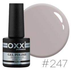 Gel polish by Oxxi №247 (beige, enamel) 10 ml.