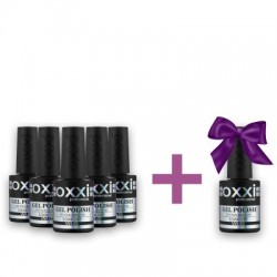 Set of Oxxi gel polishes 5 + 1 as a gift